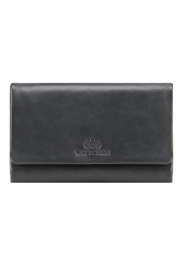 Wittchen - Damski portfel ze skóry prosty. Materiał: skóra. Wzór: gładki
