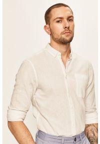 Biała koszula Blend na co dzień, casualowa, button down