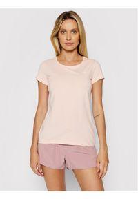 4f - 4F T-Shirt NOSH4-TSD001 Różowy Regular Fit. Kolor: różowy