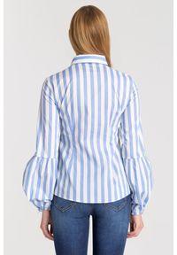 Trussardi Jeans - KOSZULA SLIM FIT TRUSSARDI JEANS. Materiał: materiał. Styl: elegancki, sportowy