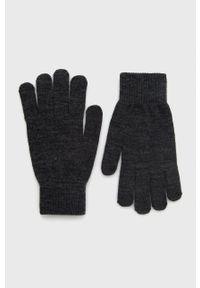 Jack & Jones - Rękawiczki. Kolor: szary