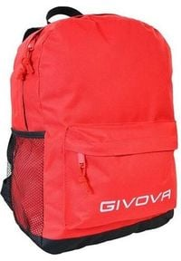 Givova Plecak Zaino Scuola, czerwony. Kolor: czerwony