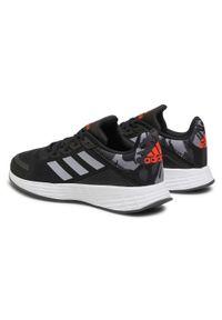 Adidas - Buty adidas - Duramo Sl K FY8893 Cblack/Halsil/Solred. Okazja: na co dzień. Zapięcie: sznurówki. Kolor: czarny. Materiał: materiał. Szerokość cholewki: normalna. Styl: klasyczny. Model: Adidas Cloudfoam