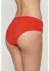 Czerwony strój kąpielowy dwuczęściowy Puma z nadrukiem