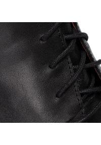Karino - Botki KARINO - 2766/076-P Czarny. Kolor: czarny. Materiał: skóra. Szerokość cholewki: normalna. Sezon: zima, jesień. Obcas: na obcasie. Wysokość obcasa: średni