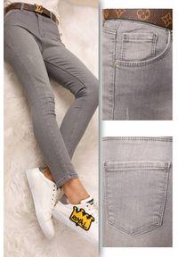 Szare jeansy IVET