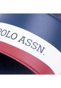 U.S. Polo Assn - Klapki U.S. POLO ASSN. - Aquarius FUN4105S0/Y2 Dkbl/Whi. Okazja: na co dzień. Kolor: niebieski. Materiał: skóra ekologiczna, materiał. Styl: casual