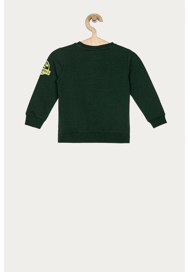 Bluza Name it na co dzień, z aplikacjami, z okrągłym kołnierzem