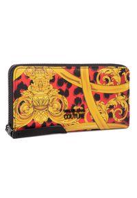 Czerwony portfel Versace Jeans Couture