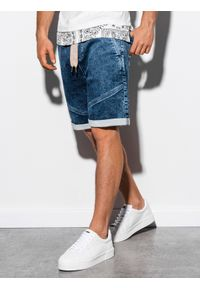 Szorty Ombre Clothing krótkie, z aplikacjami