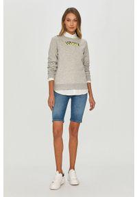Szara bluza Armani Exchange z długim rękawem, casualowa