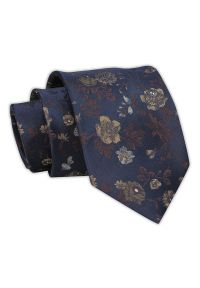 Krawat Chattier w kwiaty, elegancki