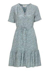 Cream Wzorzysta sukienka z wiskozy Julia niebieski we wzory female niebieski/ze wzorem 46. Kolor: niebieski. Materiał: wiskoza