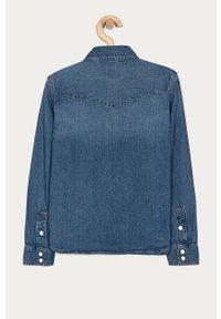 Niebieska koszula GAP długa, casualowa
