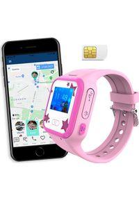 Smartwatch CALMEAN Mini Różowy. Rodzaj zegarka: smartwatch. Kolor: różowy