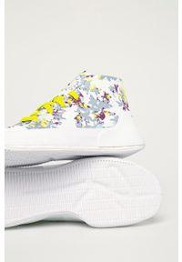 Adidas by Stella McCartney - adidas by Stella McCartney - Buty Treino Mid Pri. Nosek buta: okrągły. Zapięcie: sznurówki. Kolor: biały. Materiał: materiał, guma. Obcas: na platformie. Model: Adidas Stella McCartney