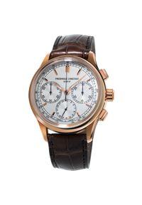 FREDERIQUE CONSTANT PROMOCJA ZEGAREK FC-760V4H4. Rodzaj zegarka: smartwatch. Styl: klasyczny, elegancki