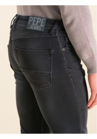 Pepe Jeans Jeansy Skinny Fit Nickel Infused PM205148 Granatowy Skinny Fit. Kolor: niebieski #5