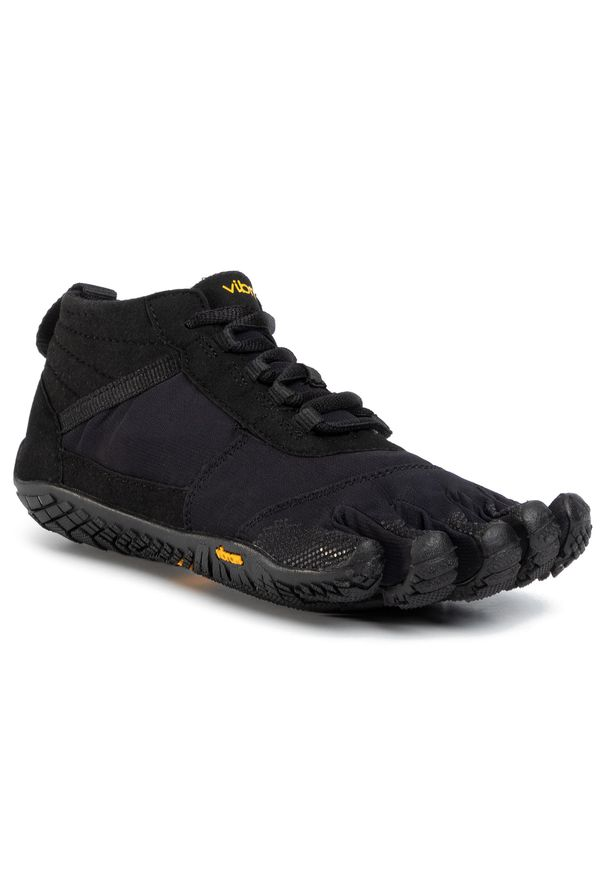 Czarne buty do fitnessu Vibram Fivefingers na co dzień, z cholewką, Vibram FiveFingers