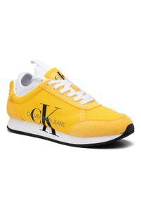 Żółte półbuty Calvin Klein Jeans