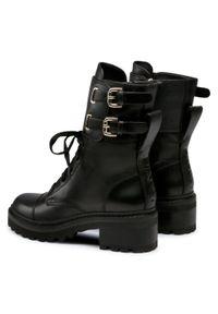 Czarne buty trekkingowe DKNY