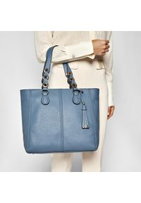 Niebieska torebka klasyczna Liu Jo na ramię