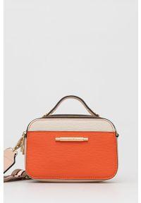 Aldo - Torebka Fari. Kolor: pomarańczowy. Rodzaj torebki: na ramię
