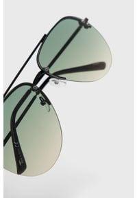 Zielone okulary przeciwsłoneczne Aldo