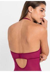Body ze stringami: MUST HAVE bonprix czerwony wiśniowy. Kolor: fioletowy. Materiał: materiał