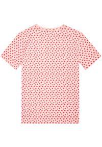 Różowa piżama TOMMY HILFIGER z nadrukiem