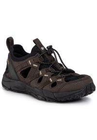 Brązowe sandały Merrell na lato