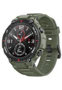 AMAZFIT - Amazfit smartwatch T-Rex, Army Green. Rodzaj zegarka: smartwatch. Kolor: zielony. Styl: sportowy, militarny