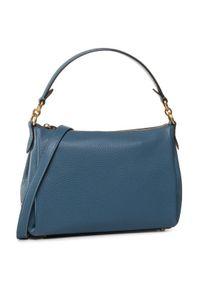 Niebieska torebka Coach