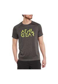 Koszulka męska treningowa Energetics Massimo II 294921. Materiał: poliester, tkanina, materiał. Długość rękawa: krótki rękaw. Długość: krótkie. Sport: fitness