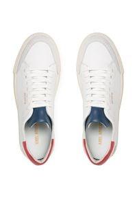 Axel Arigato - Sneakersy AXEL ARIGATO - Clean 90 28623 White/Red/Blue. Kolor: biały. Materiał: skóra, zamsz. Szerokość cholewki: normalna