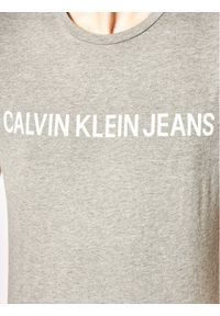 Calvin Klein Jeans T-Shirt Core Institutional Logo J30J307855 Szary Regular Fit. Kolor: szary