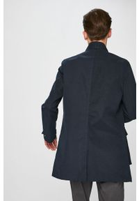 Niebieski płaszcz medicine bez kaptura, na co dzień, casualowy #9