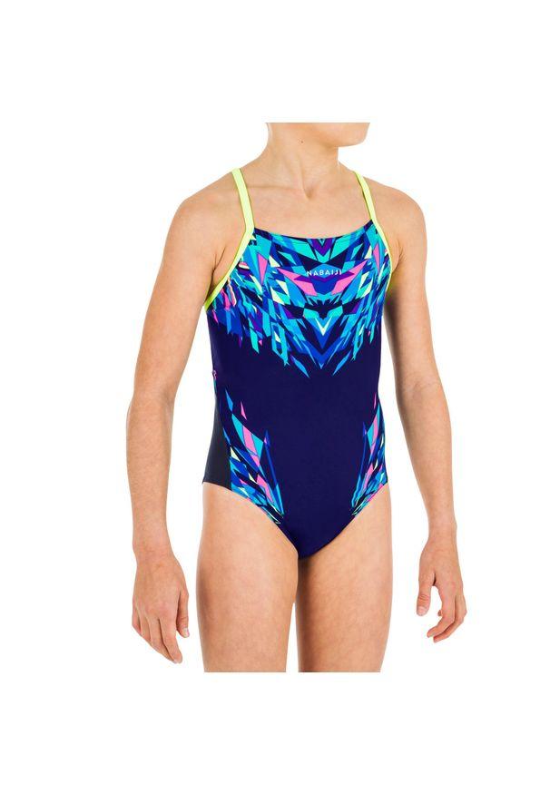 NABAIJI - Strój Pływacki Jednoczęściowy Lexa Kali Dla Dzieci. Materiał: poliamid, materiał, poliester