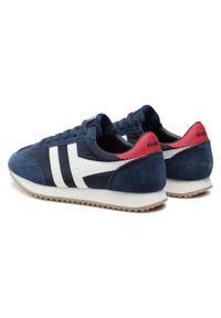 Sneakersy GOLA - Gola Boston 78 CMB108 Navy/Off White/Deep Red. Okazja: na co dzień. Kolor: niebieski. Materiał: zamsz, materiał, skóra. Szerokość cholewki: normalna. Styl: casual, sportowy