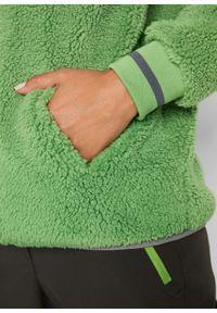Zielona bluza bonprix ze stójką