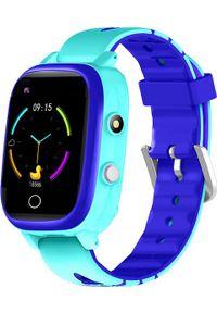 Niebieski zegarek Garett Electronics smartwatch
