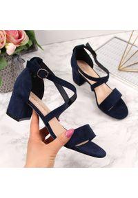 Niebieskie sandały Sergio Leone
