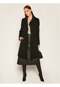 Czarny płaszcz przejściowy Weekend Max Mara