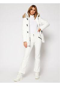 Białe spodnie sportowe CMP narciarskie