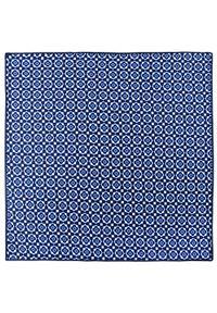 Niebieska poszetka