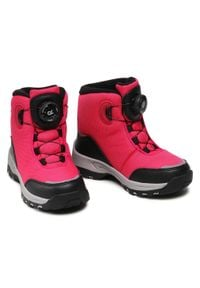 Reima - Śniegowce REIMA - Orm 569434 4650. Okazja: na spacer. Kolor: różowy. Materiał: skóra, materiał. Szerokość cholewki: normalna. Sezon: zima #7