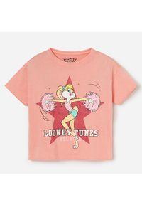 Pomarańczowy t-shirt Reserved