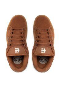 Etnies - Sneakersy ETNIES - Fader 41010000203 Brown/Beige/Gum 232. Kolor: brązowy. Materiał: skóra, zamsz. Szerokość cholewki: normalna
