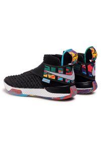 Czarne półbuty Nike z cholewką, sportowe, na co dzień