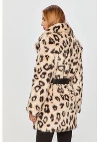 Kremowy płaszcz Miss Sixty bez kaptura, klasyczny